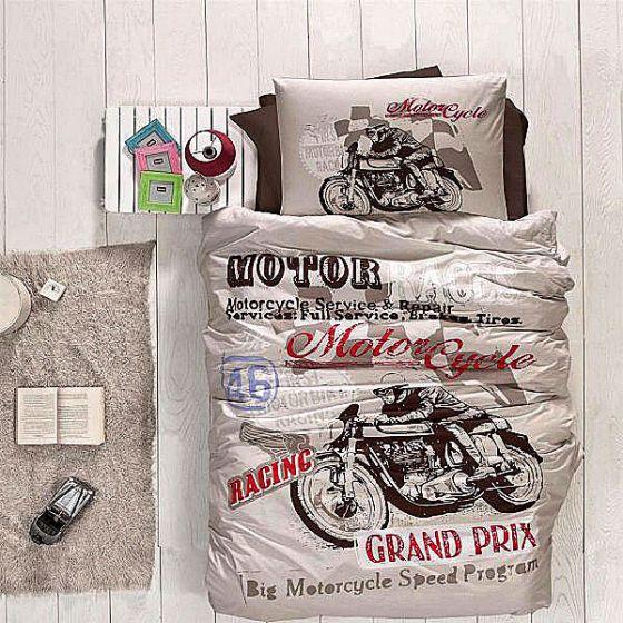 Fine Ranforce Kids Bed Linen 3 pieces Set, Grand Prix