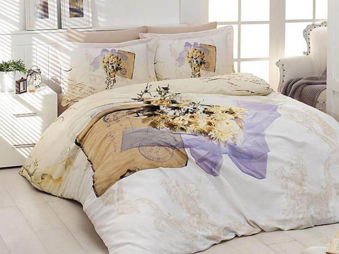 3D DeLuxe Cotton Sateen Bed Linen 6 piece Set, Dulche